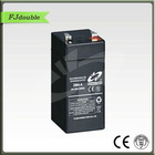 Maintenance Free Seal Lead Acid Rechargeable Storage UPS Solar AGM Battery 4V4AH