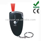 portable alcohol tester breathalyzer keychain