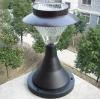 NEW!Stainless Steel Outdoor Garden Solar Light Wall Lamp 8 LED Light