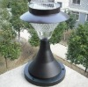 NEW!Stainless Steel Outdoor Garden Solar Light Wall Lamp 8 LED Light