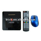 1080P Full HD Android 2.3 Network Media Player w/ 2 x USB/SD/HDMI/LAN/Optical/CVBS/Audio R/L