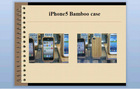 Iphone5 apple four generations of mobile phone sets of bamboo cell phone ipone5 protection shell
