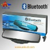 ALD88B with 60' record and play function bluetooth handsfree rearview mirror car kit