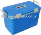 30L blue dog vaccine cooler box with 38 hours cold life