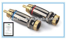 Electronic Aucoustic Component-Speaker Part- Pressure(Spring)/Screw Copper Binding post