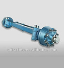10tons Steering Axle with Brake 350x90