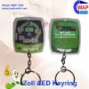 ZOLL AED defibrillator promotion keyrings led pvc keyring