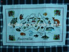 custom screen print your own decorative tea towel/kitchen towel