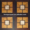 wood marble inlay flooring parquet flooring LIREN-M006