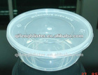 disposable plastic take-away hot soup bowl