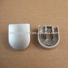 Zinc Die Casting Aluminum Extrusion Profiles End Cap