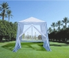 gazebo with mosquito net