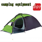 cheap solar power mountain leisure 2 person family camping tent equipment
