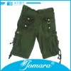 Loose waist shorts for boys,military green boys summer shorts