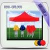 New foldable advertising promotion beach umbrella OEM