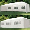 3mx9m PE Wedding Party Tent Marquee/10'x30' White Party Tent Gazebo Canopy with Sidewalls/PE Gazebo/Marquee tent