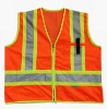 security reflective vest with pocket