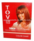 Gewei human hair dye color chart show different beauty