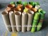 Biodegradable bamboo fiber flower pots