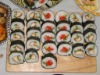 sushi seaweed,wasabi powder,ginger