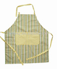 Pantone color polyester65% cotton 35% polyester cooking apron ,promotion apron