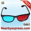 Factory Direct W5 3D Glasses Red/Blue (PC Optical Frame and AC Lens )
