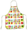 100% cotton printed canvas apron