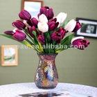 Small mosica glass flower vase