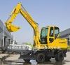 Hydraulic wheel excavator