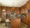 Antique Solid Wood Kitchen Cabinets with Granite Bench Tops