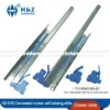 Concealed steel full extension slide