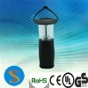 6 leds Mini outdoor camping latern with compass