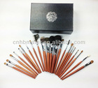 100% animal hair makeup brush set cosmetic brushes