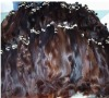 Export russian unprocessed human hair material /raw /hair bulk