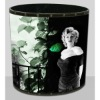 Marilyn Monroe decoration items, trash can,rubbish bin