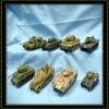 polyresin toy Tank