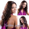 Brazilian virgin human hair weave extention