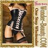 Sexy maroon chains steampunk corset 2012