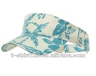 100% cotton sun visor cap/visor cap/sunhat with embroidery custom logo