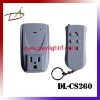 bed room to washroom American remote control power plug