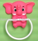 Lovely Elephant Towel Ring; Animal Design Towel Rack