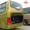 New style gas spring for lift bus door behind
