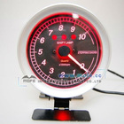 "3 1/8"" Red Gauge Meter With Shift Lamp"