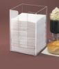 acrylic napkin stand