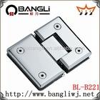 BL-B221 304 stainless steel 180 degree shower hinge
