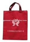 Red Color Printed Shopping Non Woven Bag