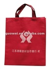 Red Color Printed Shopping Non Woven Bag