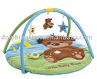 Cute teddy bear baby play mat