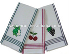 Dish towel made of 100% cotton