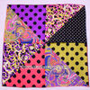 Colorful 14mm quality printed twill silk scarf